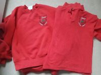 Crookfur Primary jumpers and polo shirts 7-8