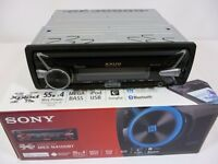 BOXED BLUETOOTH SONY CAR STEREO MEX-N4100BT, ALMOST NEW