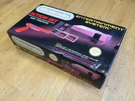 Nintendo NES Action Set Console Boxed