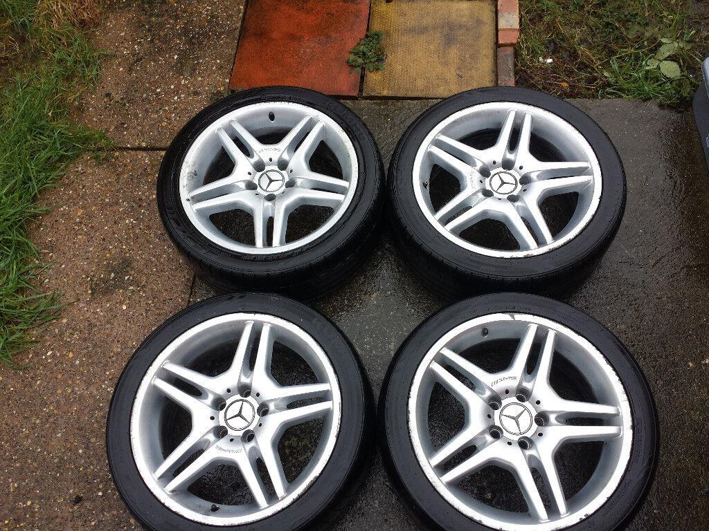 Mercedes Alloys AMG 55 Style Wheels 18 Inch W203 W211 W220