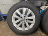 Genuine Volkswagen Clayton wheels