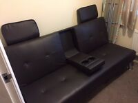 Sofa Bed with built in speakers OPEN TO OFFERS
