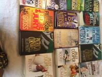 15 various title books in great condition grab a BARGAIN various authors