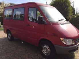 mercedes wheelchair adapted sprinter minibus AUTOMATIC DIESEL LOW MILES 1 OWNER