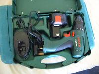 BOSCH 9,6 volt cordless drill
