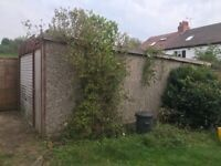 Sectional concrete garage - free. Leeds, LS8.