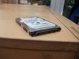 sata laptop hard drive 640gb