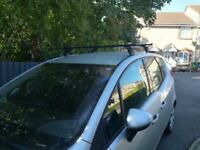Exodus 4 fixed point roof bars complete set