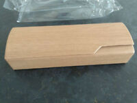 Hard spec / sunglasses Case - Wooden Theme - New!- Never used