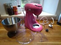 Kenwood Patissier Food Mixer/Processor Pink MX310