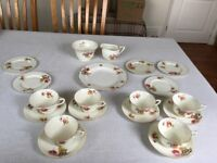 Royal Worcester Fine Bone China Tea Set