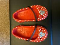 Minnie Mouse Crocs. Infant size 5 - as good as new
