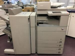 REPOSSESSED Canon Color copier IRA C5051 Single Pass Duplex Scanner Printer Scan To Email 11x17 12x18