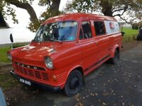 1965 Ford Transit mk1 23,000 miles no Rust, Converted to a Campervan, with removable bed