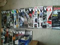 magazines: various performance volkswagen.