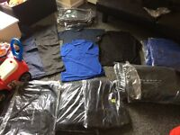 Joblot, wholesale Uneek workwear bulk. Various items all new in packets.