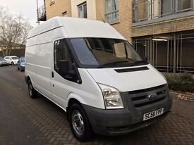 Ford transit high top 2.4 tdci 2007 low mileage 2007 (((NO VAT)))