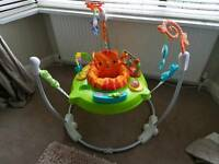 New and unused Fisher Price Roarin' Rainforest Jumperoo