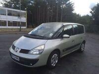 2003 Renault Espace 1.9dci 7 seater 12 months mot/3 months warranty