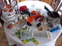 Variety of Kitchen items for Motorhome/caravan