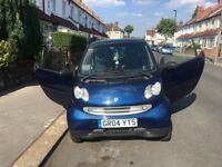 CHEAP BLUE SMART FORTWO Panoramic sunroof RUNNING Vehicle