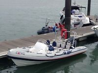 Ribeye A series 550 RIB powered by a Yamaha 4 stroke 100hp outboard