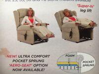 Elderly persons recliner chair