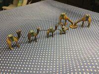 Antique Set of Camel-train Ornaments