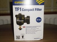 Fernox TF1 central heating boiler filter, new, in the box
