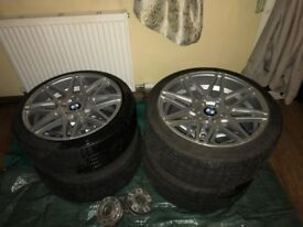 BMW E60 19 inch; ALLOYS AND TYRES