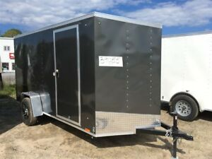 2018 Pace American 6X12 OUTBACK DLX TRADES WELCOME