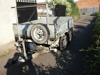 ivor williams tipping trailer
