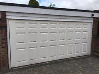 Double garage door (Electric with Motor)