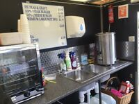 Hot & cold food trailer for sale