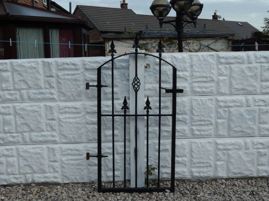 Wrought Iron Gate Garden Gate Metal Gate Steel Gate House Gate