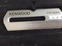 Kenwood KAC-6404, 4 channels 500 Watts Power Amplifier