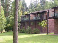 2 bedroom lodge for rent at Craigendarroch Resort, Ballater. September 4th - 11th