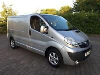 2012 Vauxhall Vivaro 2.0 CDTi Sportive Van, NEW 12 MONTHS MOT. NO VAT (Renault Trafic Traffic Sport)