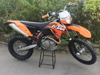 KTM 400 EXC 2010 ENDURO/GREEN LANING BIKE