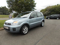 FORD FUSION ZETEC AUTOMATIC HATCHBACK STUNNING BLUE 2008 BARGAIN ONLY £2450 *LOOK* PX/DELIVERY