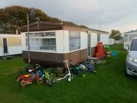Cheap static caravan sited near aberaeron West wales