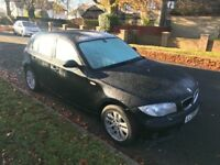 2005(05) BMW 116i BLACK **VERY CLEAN BODYWORK** *MOT* **HPI CLEAR** *DRIVES REALLY WELL*