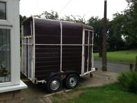 Horse trailer , horse box trailer , trailer for sale , mobile bar