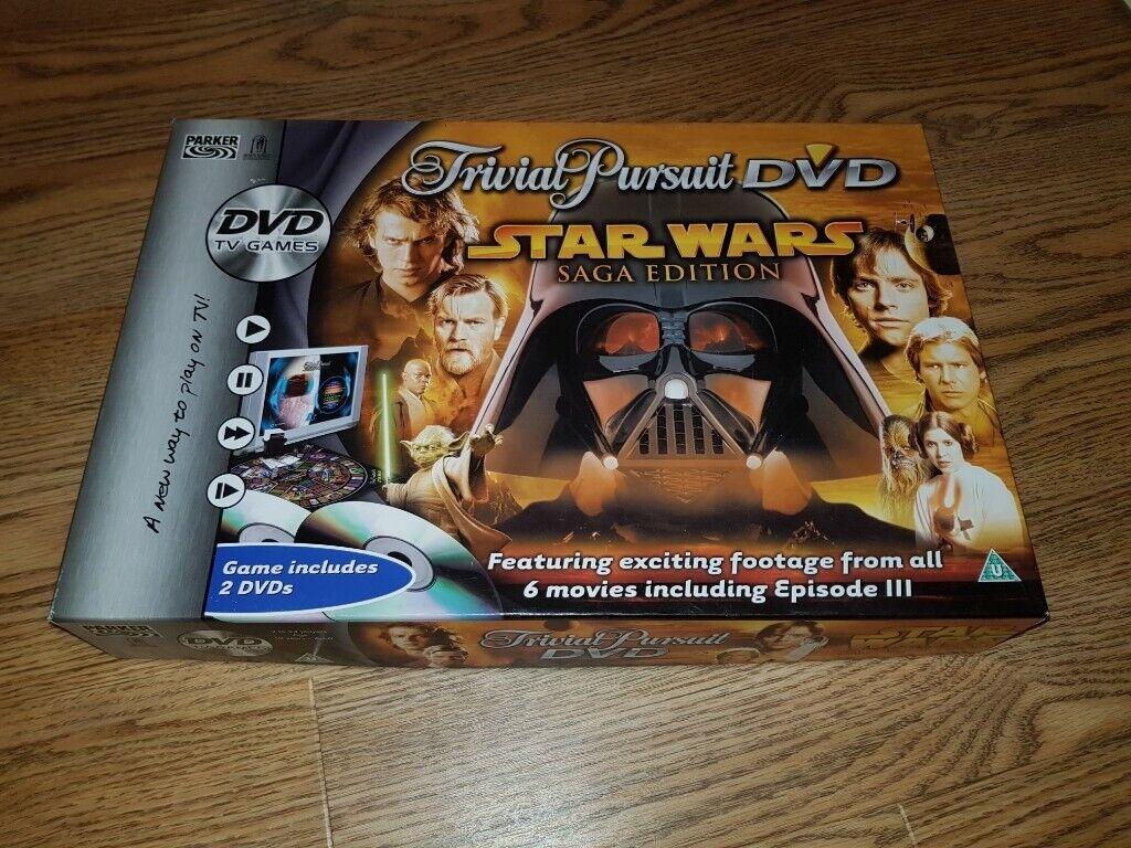Star Wars Trivial Pursuit DVD Board Game | in Newcastle, Tyne and Wear |  Gumtree