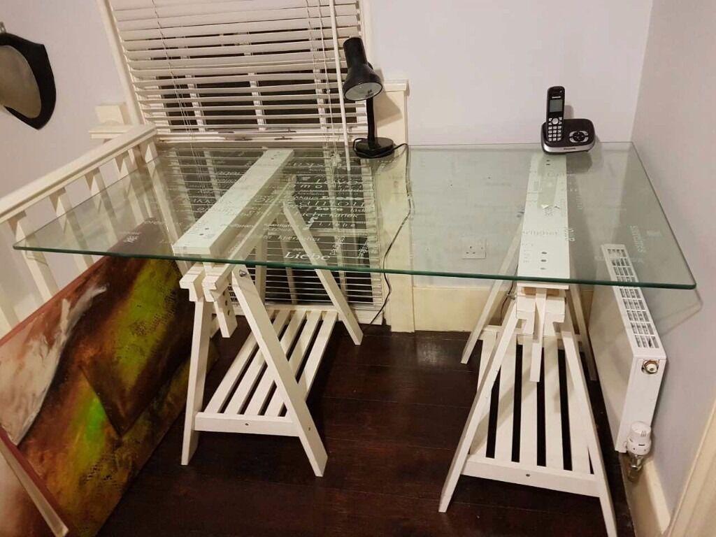 Ikea glasholm desk ikea desks living rooms and