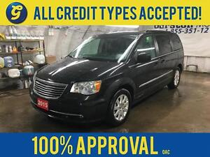 2015 Chrysler Town and Country Dual DVD/Blu-ray Entertainment*2n Kitchener / Waterloo Kitchener Area image 1