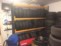Car Tyre Wheel Garage Workshop Storage Freestanding Racking Storage Rack Stand