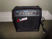 LEEM GA-610D amp practice speaker, Black - portable