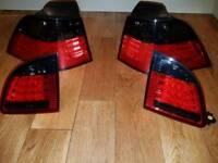 Bmw E61 touring rear lights