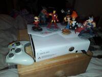 Xbox, pad, games, kinect, infinity sensor pad with figures !